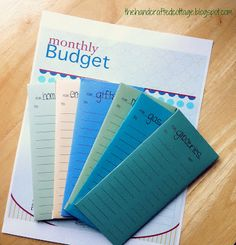 cash budget envelopes