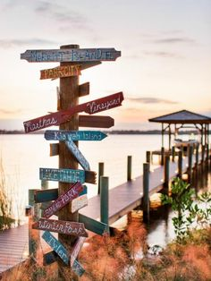 designer david bromstad created a focal point art piece for the dock directing visitors to points - Boat Dock Design Ideas