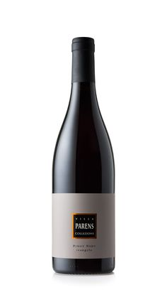"""VILLA PARENS - Collezione PINOT NERO """"IVANGELO"""", because the evolution and the aging are to be collected to be enjoyed in time and beyond."""
