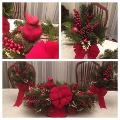Grave flowers using a log as the base attached to the metal saddle. Grave Flowers, Cemetery Flowers, Funeral Flowers, Funeral Flower Arrangements, Floral Arrangements, Christmas Wreaths, Christmas Crafts, Christmas Stuff, Cemetary Decorations