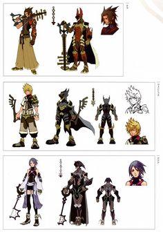 Kingdom Hearts Birth by Sleep armor