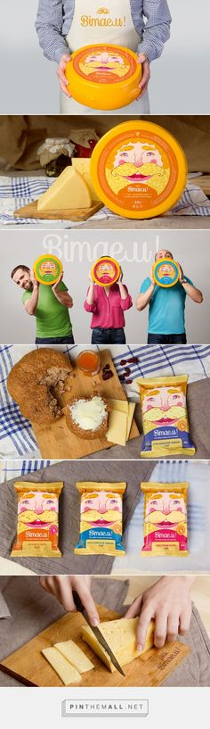 Bimaeu! by Fabula Branding curated by Packaging Diva PD. Cheese and snacks for the packaging smile file : )