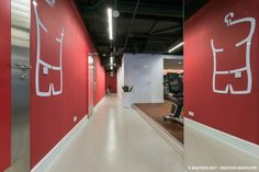 Posadzka dekoracyjna Creativo Baufloor w siłowni Fabryka Formy.