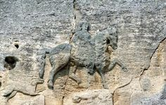 The Mysterious Stone Horseman. TheMadara Rider sits 246 feet above ground, on a cliff face in the Madara Plateau of northeasternBulgaria. The relief is inaccessible, adding to its mystery. How were they able to create it?