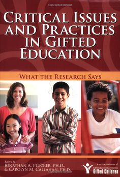 Another great resource to help gifted educators and families combat issues such as underachievement and how to support our gifted boys & girls