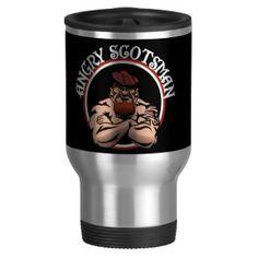 Angry Scotsman 2015 15 Oz Stainless Steel Travel Mug
