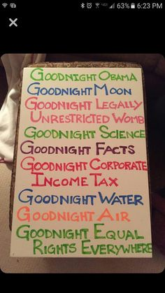 Goodnight Obama goodnight moon  Women's march on Washington Portland Oregon protest signs Resistance resist