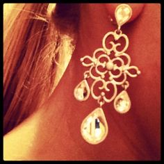New Lia Sophia earrings :)