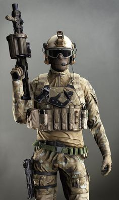 Soldat der US-Spezialeinheiten, Artem Yuldashev - Trend Hipster Sil 2019 Special Forces Gear, Military Special Forces, Military Armor, Military Gear, Military Soldier, Tactical Armor, Armas Ninja, Futuristic Armour, Future Soldier