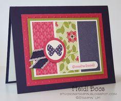 card making night - May 2012