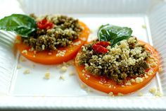 Sun Dried Tomato Pumpkin Seed Pesto - Pinned by @eatinghealthy. Find more at http://bit.ly/yHPaW320