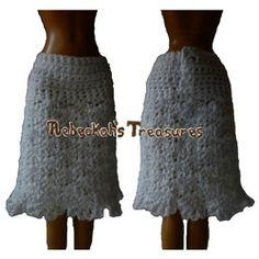 Crochet Barbie Skirt Free Pattern