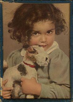 Fox-terrier Girl Antique by k8walton83, via Flickr