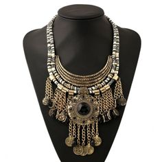 Fashion Rope Boho Collar Flower Big Power Vintage Long Women Bohemian Necklace Maxi Tassel Statement Necklace For Women Jewelry - http://jewelryfromchina.com/?product=fashion-rope-boho-collar-flower-big-power-vintage-long-women-bohemian-necklace-maxi-tassel-statement-necklace-for-women-jewelry