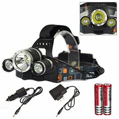 Genwiss 6000LM CREE XM-L XML 3T6 LED Rechargeable HeadLamp HeadLight Tourch 2*18650 For Outdoor Sports * This is an Amazon Affiliate link. Check out the image by visiting the link.