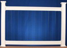 Vinyl Railing - Glass Pickets - Great Railing