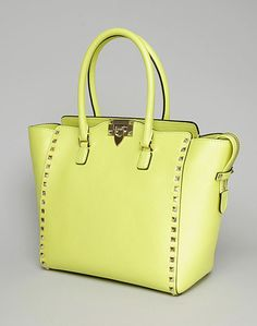 Valentino double handle satchel super hot color for spring!
