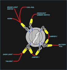 on 4 blade ignition switch wiring diagram