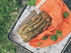 Asparagus, Mint and Parmesan Bread Recipe - Try making this delicious savoury bread courtesy of Eleanor Ozich