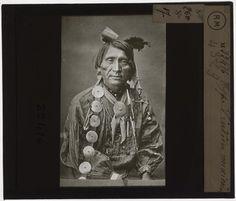 [Plaque de verre du fonds Colbert | EHNE]   Type d'indien mexicain