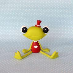 DIY Cute Frog Polymer Clay Step-by-Step Tutorial