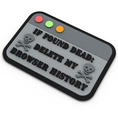 We just added If Found Dead to the Armory! Check it out http://www.moralepatcharmory.com/products/if-found-dead-morale-patch?utm_campaign=social_autopilot&utm_source=pin&utm_medium=pin