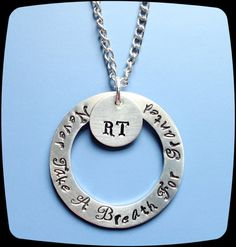 5274bb51d Items similar to RT, RRT, Respiratory Therapist, Breathing Therapy Staff,  Rehab Office Professional Jewelry Necklace, Hospital Gift on Etsy