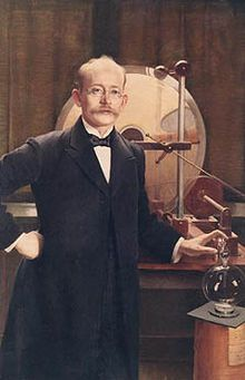 Kristian Olaf Bernhard Birkeland (13 December 1867 – 15 June 1917) was a Norwegian scientist. He is best remembered as the person who first elucidated the nature of the Aurora borealis. In order to fund his research on the aurorae, he invented the electromagnetic cannon and the Birkeland-Eyde process of fixing nitrogen from the air. Birkeland was nominated for the Nobel Prize seven times
