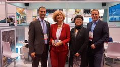 Alexander Rodionov, CMP, DMCP from Tsar Events DMC & PCO and members of Host Global Alliance at AIBTM, Chicago. June 2013