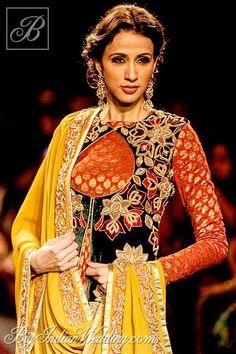 Shyamal & Bhumika at Lakme Fashion Week 2013