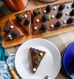 choklad paj recept