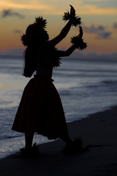 Hula at Sunset