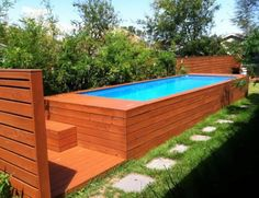 Backyard Design With Small Swimming Pool - Home Ideas