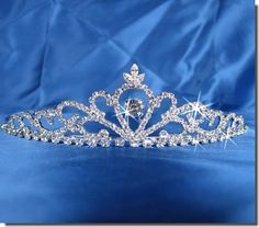 Because I want to be a Princess on my wedding day ;)   SC Bridal Wedding Tiara Crown 25307 « Holiday Adds