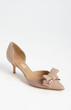 Salvatore Ferragamo 'Rietta' Pump available at #Nordstrom