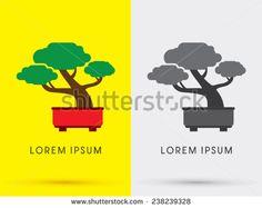 stock-vector-bonsai-tree-abstract-logo-symbol-icon-graphic-vector-238239328.jpg (450×358)