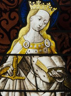Saint Catherine of Alexandria, 1450.