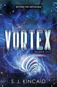 Review: Vortex by SJ Kincaid  -Interesting young adult science fiction novel that started out really slow but ended up being a very enjoyable read. (Click image for full review)