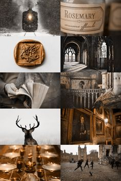 hogwarts aesthetic (more here)