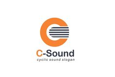 C-Sound Logo Design - Brannet Market Sound Logo, Music Channel, Professional Logo Design, Music Industry, Slogan, Company Logo, Marketing