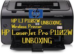 HP LaserJet Pro P1102W Wireless Printer Unboxing Review Wireless Printer
