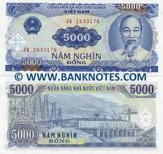 Viet Nam This country respects its leaders as shown by the portrait on the front of the currency.  The back of the currency shows what I am guessing as a power plant.  I think they take pride in what they have been able to build for themselves.