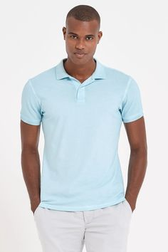 Essentials Slim-fit Jersey Polo Hombre