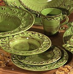 tuscan horchow dinnerware - Google Search | Dinnerwares | Pinterest ...