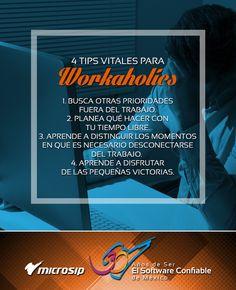 #TipsMicrosip 4 tips vitales para wokaholics