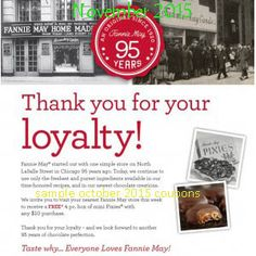 Fannie May Coupons Ends of Coupon Promo Codes MAY 2020 ! Was of Lasalle person H. 1920 Chicago success Teller by name retail In A May. Coupons For Boyfriend, Coupon Stockpile, Free Printable Coupons, Love Coupons, Grocery Coupons, Extreme Couponing, Love Chocolate, Coupon Organization, May