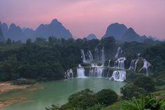 Detianfallen, Kina & Vietnam