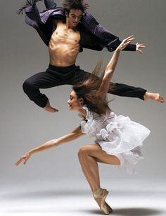Dorothée Gilbert et Alessio Carbone.  ✯ Ballet beautie, sur les pointes ! ✯