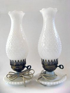Perfect Milk Glass Lamp, Glass Lamps, Piano Lamps, Glass Castle, Hurricane Lamps,  Hurricane Candle Holders, Glass Collection, Vintage Lamps, Vintage Dishes