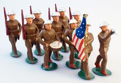 The Art of the of the Toy Soldier- Manoil Dimestore Figures
